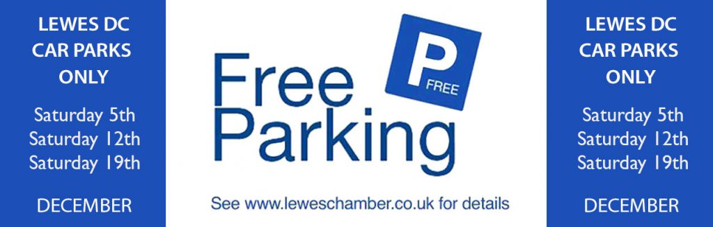 Free parking in Lewes