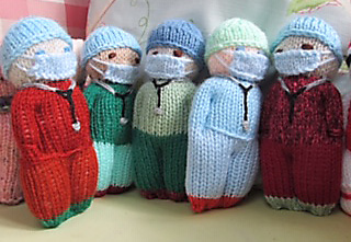 Knitted nurses