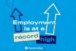Record employment levels