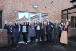Representatives from East Sussex County Council, CCGs, Community Integrated Care and Inclusion Housing gathered to mark the opening