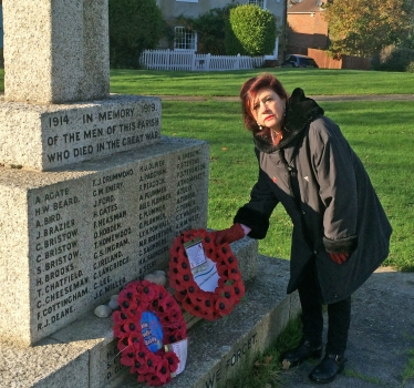 Council's Armed Forces Champion remembers the fallen despite services cancelled